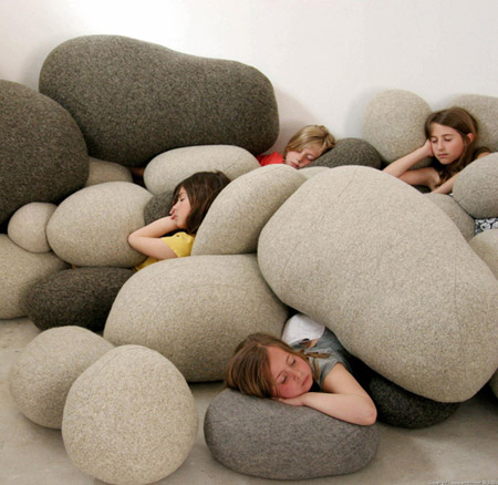 stone pillows 15+ Out of the Ordinary Pillow Designs