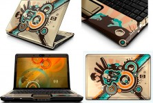 Abstract laptop design by HP