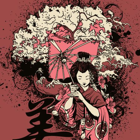 30 most beautiful free and premium japanese vector