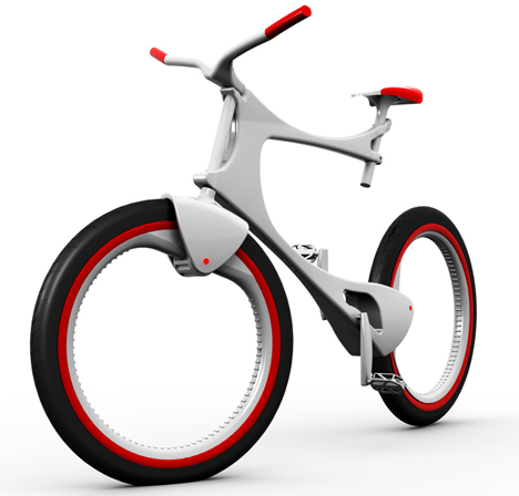 bike design marina gatellli 15+ Out of the Ordinary Bike Designs