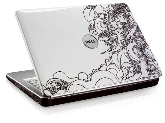 Cool Notebook Cover Designs ~ Really cool laptop skin designs pixel