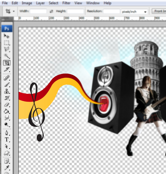 25 designioustimes music composition tutorial How to Create a Music Concept Design in Photoshop