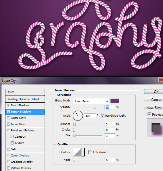 28.2 designioustimes candy cane type tutorial How to Create Candy Cane Typography with Photoshop and Illustrator