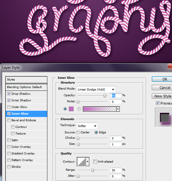 28.3 designioustimes candy cane type tutorial How to Create Candy Cane Typography with Photoshop and Illustrator