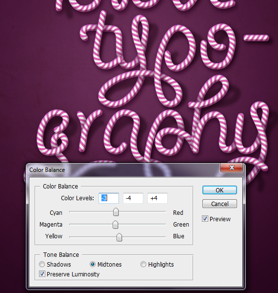 32.1 designioustimes candy cane type tutorial How to Create Candy Cane Typography with Photoshop and Illustrator