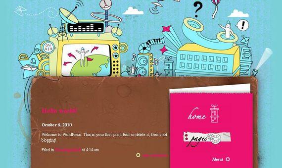 Digitaland Showcase of Beautiful Free and Premium Wordpress Themes