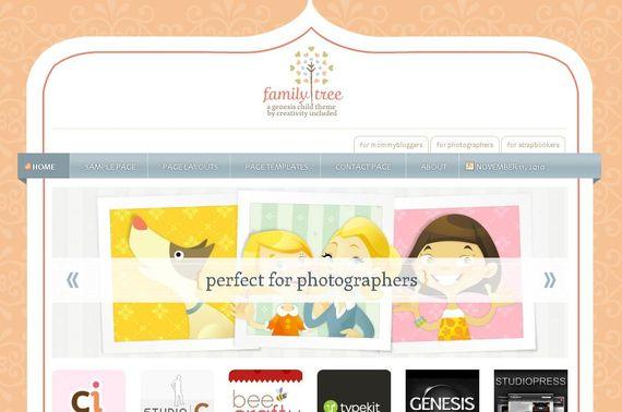 Family Tree Wordpress Theme Showcase of Beautiful Free and Premium Wordpress Themes