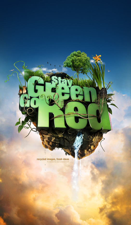 Stay Green Go Red Mike Campau Artist of the Week   Mike Campau