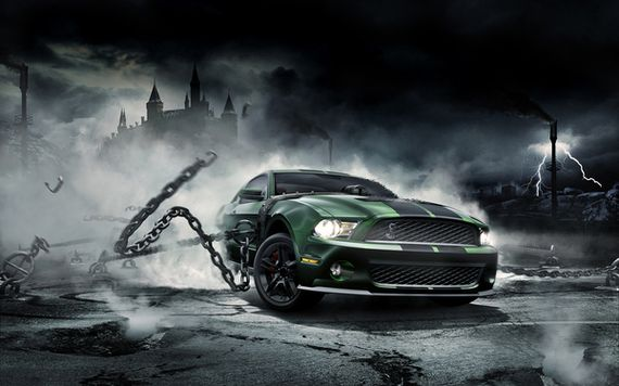 mustang monster mike campau Artist of the Week   Mike Campau