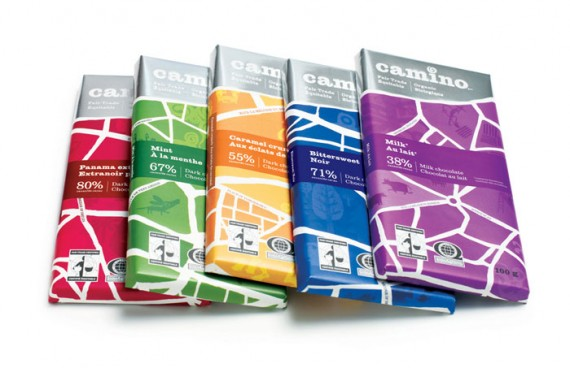 Camino Chocolate Package Design 570x368 50+ Creative Chocolate Package Designs