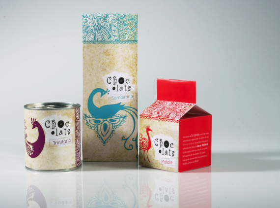 Chocolats Package Design by blackattack 570x422 50+ Creative Chocolate Package Designs
