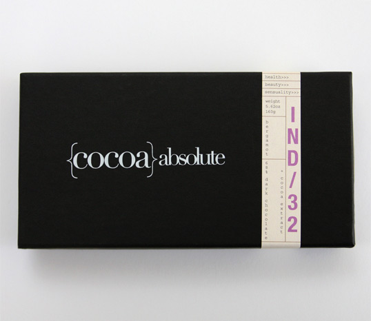 Cocoa Absolute Chocolate Package Design 50+ Creative Chocolate Package Designs