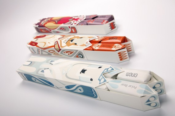Einem Chocolate Package Design 1 570x380 50+ Creative Chocolate Package Designs