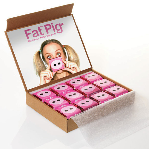 Fat Pig Chocolate Package Design 1 50+ Creative Chocolate Package Designs