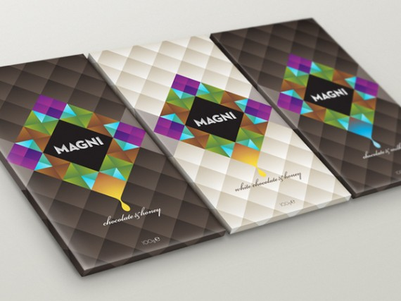 Magni Chocolate Package Design 570x427 50+ Creative Chocolate Package Designs