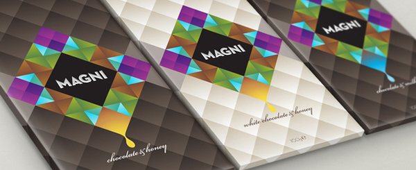 Magni Chocolate Package Design 31 50+ Creative Chocolate Package Designs