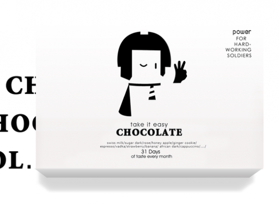 Take it Easy Chocolate Package 570x435 50+ Creative Chocolate Package Designs