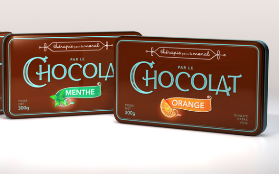 Therapie Pour Le Moral Chocolate Package Design 570x355 50+ Creative Chocolate Package Designs
