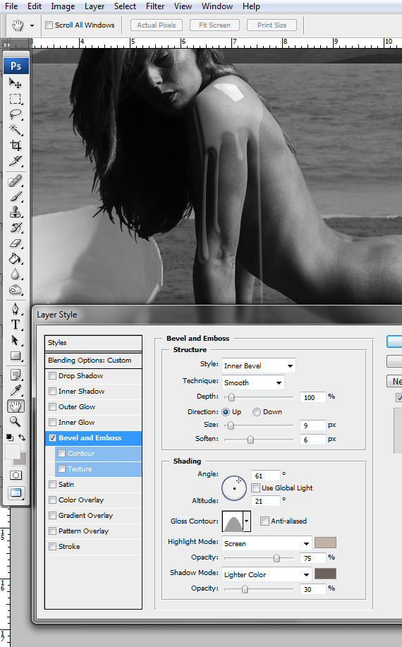 34 designioustimes conceptual monochromatic composition tutorial Create a Conceptual Monochromatic Composition in Photoshop