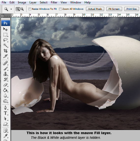40.2 designioustimes conceptual monochromatic composition tutorial Create a Conceptual Monochromatic Composition in Photoshop