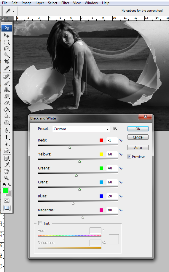 41 designioustimes conceptual monochromatic composition tutorial Create a Conceptual Monochromatic Composition in Photoshop