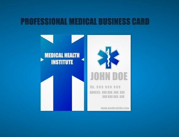 medical business cards 15+ Two Sided Business Card Templates