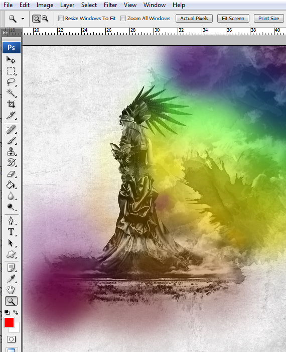 34 designioustimes conceptual design tutorial How to Create an Outstanding Wallpaper Design in Photoshop