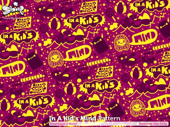 In A Kid  s Mind Pattern by giorgos93 Artist of the Week   Giorgos Vasiliadis aka Sloorp Designs