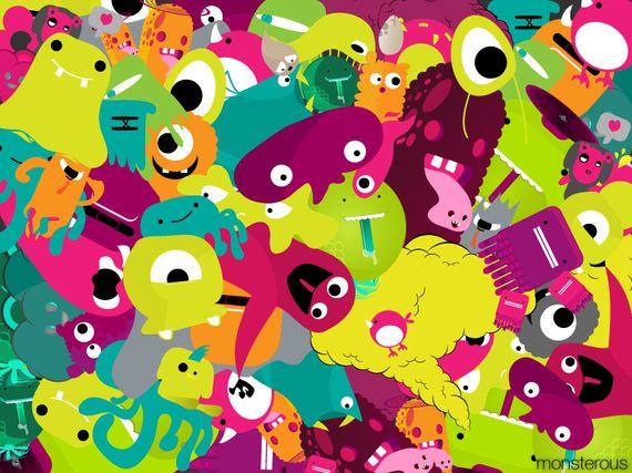 Monsterous by giorgos93 Artist of the Week   Giorgos Vasiliadis aka Sloorp Designs