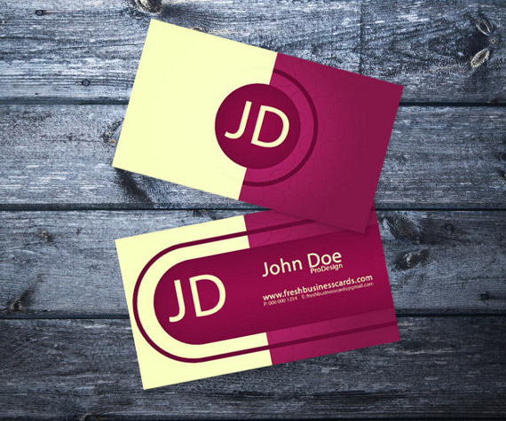 elegant business cards 15+ Two Sided Business Card Templates