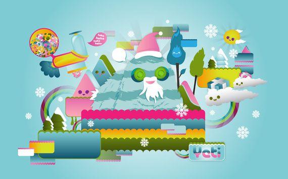 yeti  s world by giorgos93 d2e6qfh Artist of the Week   Giorgos Vasiliadis aka Sloorp Designs