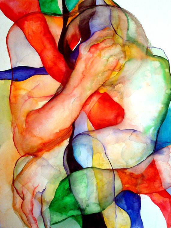 Watercolor Painting By Vassia Alaykova 1 The Beautiful Art of Watercolor Painting