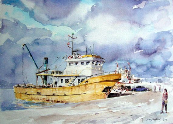 Watercolor Painting By sunaysenturk The Beautiful Art of Watercolor Painting