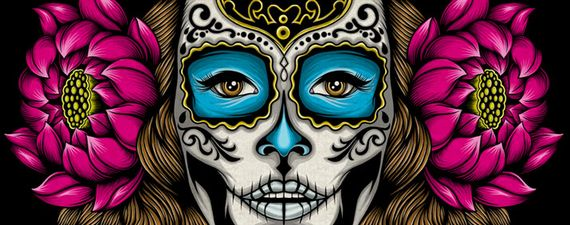 Calavera 2 Artist of the Week   Graphic Designer Chris Parks aka Pale Horse