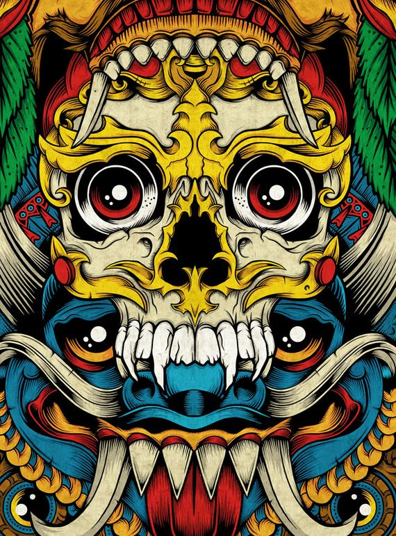 Totem 3 Artist of the Week   Graphic Designer Chris Parks aka Pale Horse