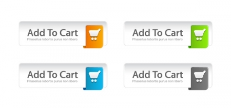 1477 colorful add to cart buttons set 5 Valuable Tips to Convert Your Website Visitors into Buyers