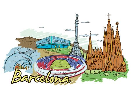 19 05 2011 511 Amsterdam, Barcelona, London, New York, Paris and Singapore – Famous Cities Vector Pack 2