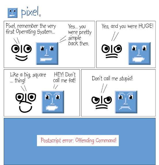 Pixel Comic 1 small Pixel Comic Strip #1 by Alan Jones