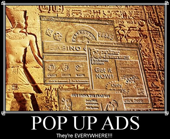 Pop Up Ads1 Mistakes That Will Make Visitors Lose Interest in Your Blog