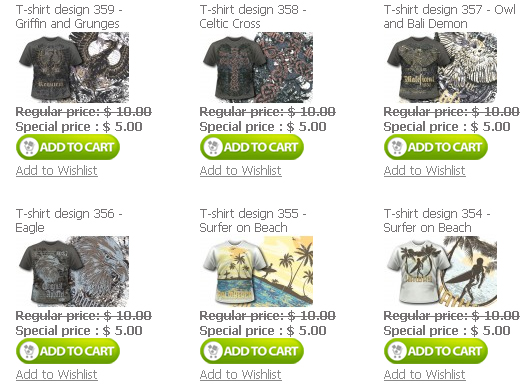 T shirt designs Designious.com is Melting the Prices 50% Discount on All Products!