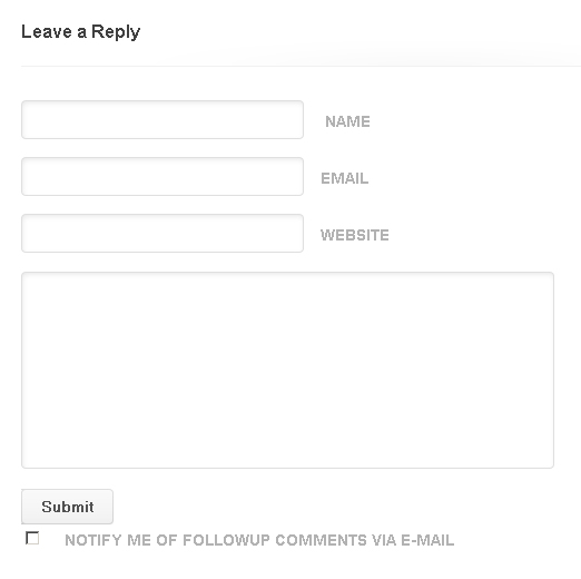 followup comments check box Mistakes That Will Make Visitors Lose Interest in Your Blog