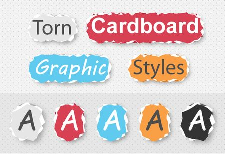 torn cardboard graphic style Design TNT A New Resource of Design Goodies for Creative Professionals is Launching Soon!