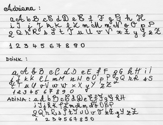 Handwriting font 1 Handwritten Fonts   A Touch of Creativity in Your Designs