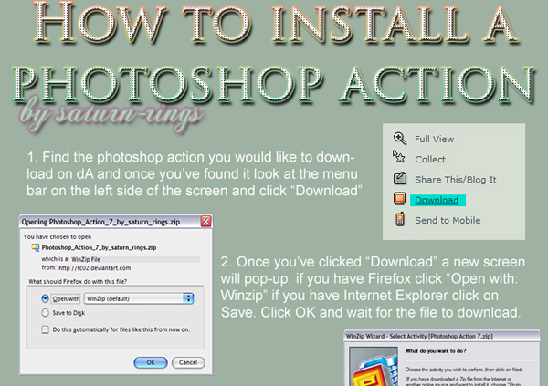 10+ Tutorials on How to Use Photoshop Actions - Pixel77