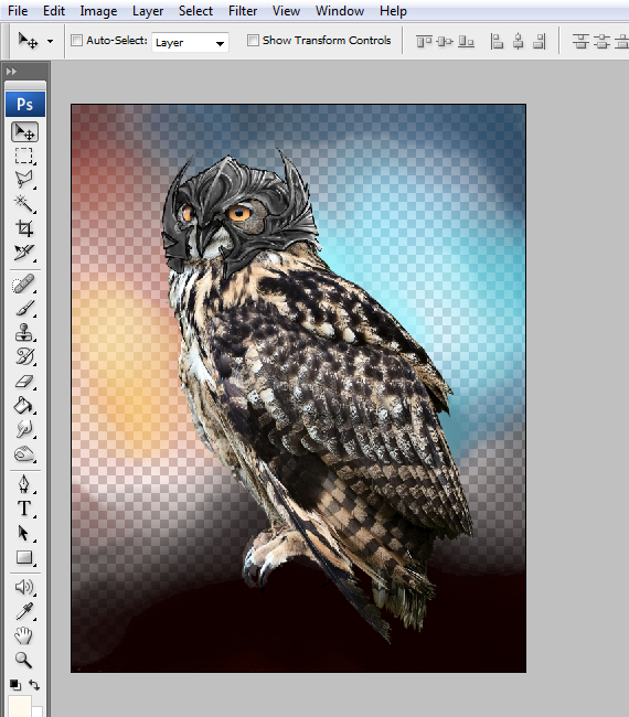 20 pixel 77 owl poster tutorial Design Process: How to create a movie poster with Photoshop and Paint Tool SAI
