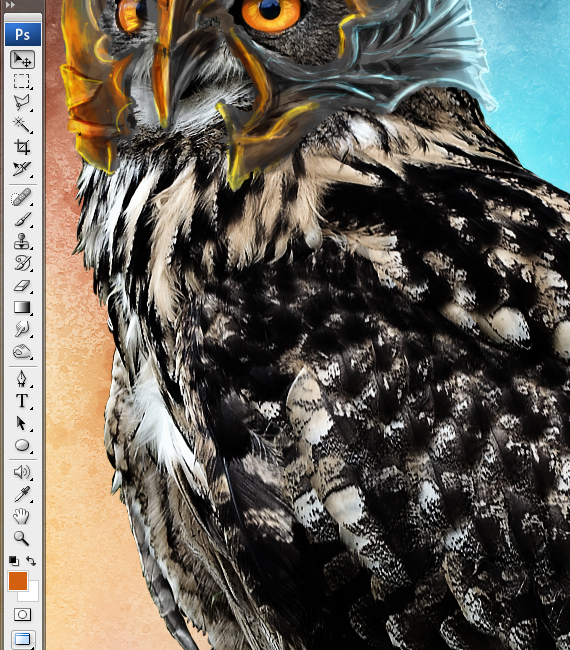 26 pixel 77 owl poster tutorial Design Process: How to create a movie poster with Photoshop and Paint Tool SAI