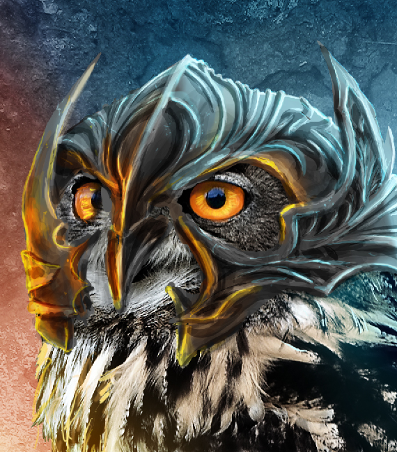 30 pixel 77 owl poster tutorial Design Process: How to create a movie poster with Photoshop and Paint Tool SAI
