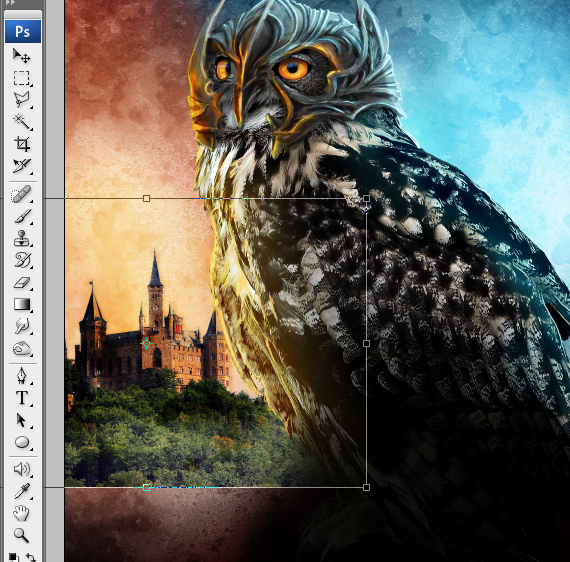 34 pixel 77 owl poster tutorial Design Process: How to create a movie poster with Photoshop and Paint Tool SAI