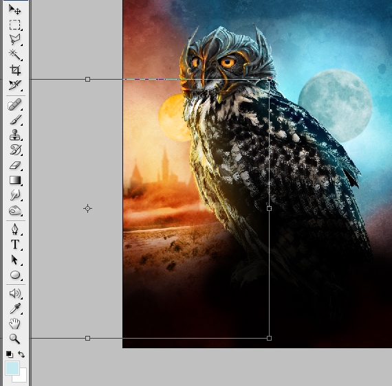 37 pixel 77 owl poster tutorial Design Process: How to create a movie poster with Photoshop and Paint Tool SAI