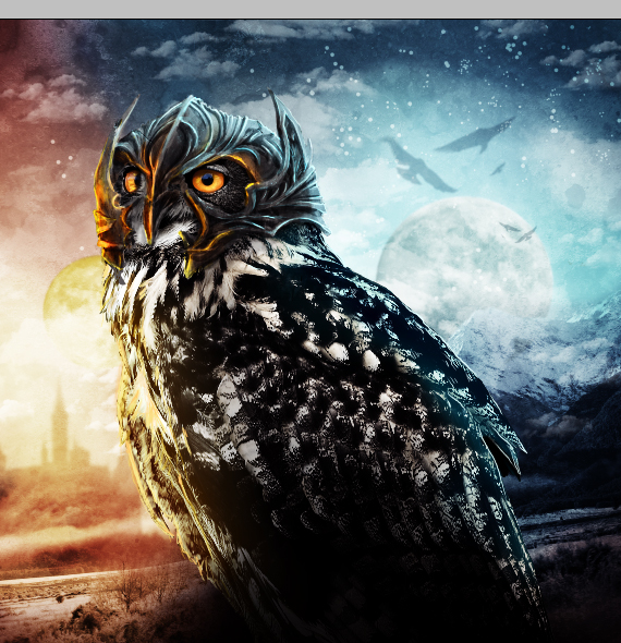 41 pixel 77 owl poster tutorial Design Process: How to create a movie poster with Photoshop and Paint Tool SAI
